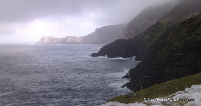 Cliffs at Achill Head, which is a Discovery Point on the Wild Atlantic Way