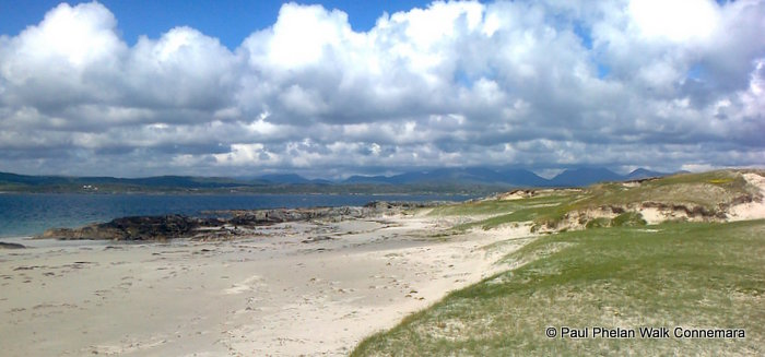 Mannin Bay with Walk Connemara