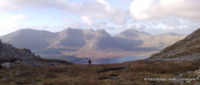 Letterbreckaun Mountain Climb with Spectacular views across the Inagh Valley