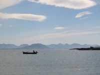 View of mainland from Inishbofin East End