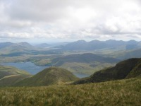 View over the 12 Bens from Mweelrea