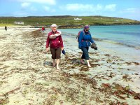 Paddling on East End, Inishbofin